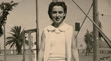 """Foto fija de """"Mary Terán"""" La tenista del pueblo, Rosaria Producciones"""