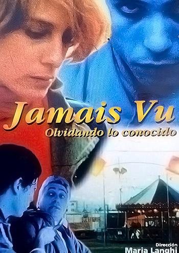 """Afiche """"Jamais vu"""" Ficción, cortometraje María Langhi, Rosaria Producciones"""